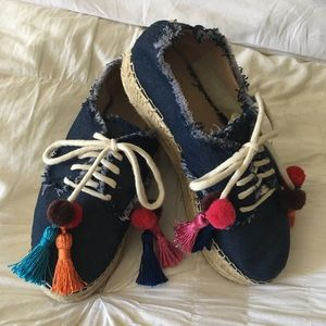 Kate Spade ♠️  denim sneakers